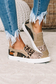Maddox Canvas Sneakers | Snake/Metallic/Camo/Cheetah
