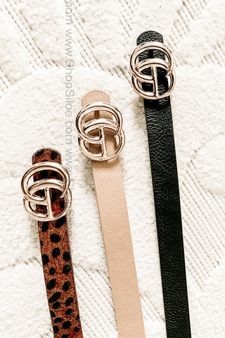 Mini Gucci Inspired Belts | 3 Pack | Colors