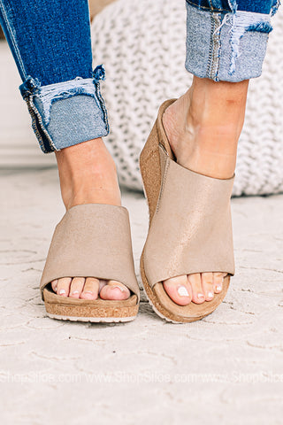 Namica Suede Leather | Washed Metallic Rose Gold | Papillio By Birkenstocks