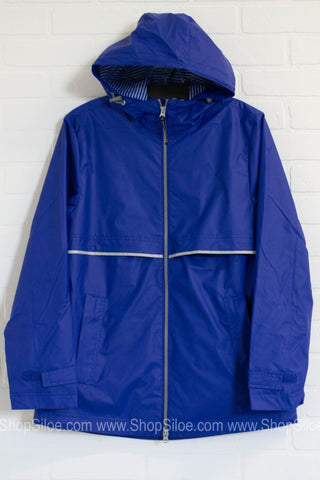 New England Rain Jacket | Waterproof | Colors| Best Seller - Siloe