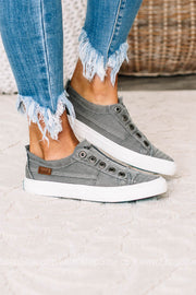 Play 4 Earth Canvas Sneakers | Graphite