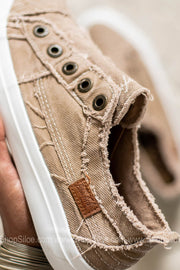 Play Canvas Sneakers | Cream Coffee