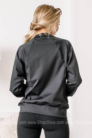 Running Wild Side Paneled Jacket | Black