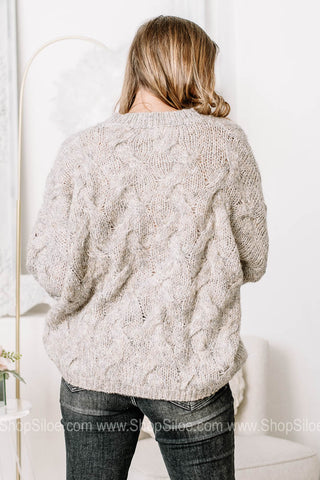 Some Kind Of Wonderful Fuzzy Knit Sweater