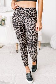 Staying Motivated Cheetah Printed Leggings
