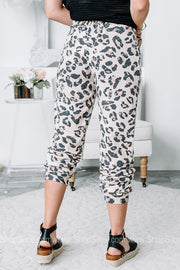Taking A Vacay Cheetah Print Joggers