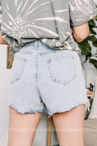 The Highs And Lows Denim Shorts