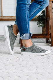 Vex Canvas Sneakers | Steel Grey