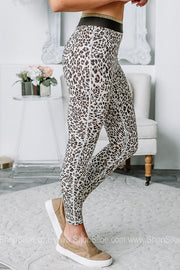 Wild Child Cheetah Printed Leggings