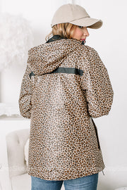 Wind & Waterproof Rain Jacket | Cheetah Print | Best Seller