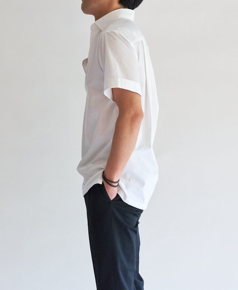 TM-3228 / Poplin Short Sleeve Shirt