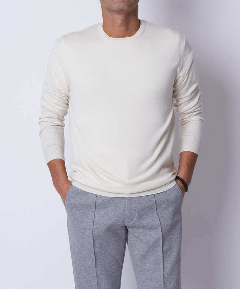 TM-0061 / WISH Crew Neck Knit