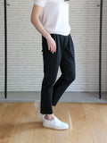 TL-6151 / Strech Cardboard Tapered Pants