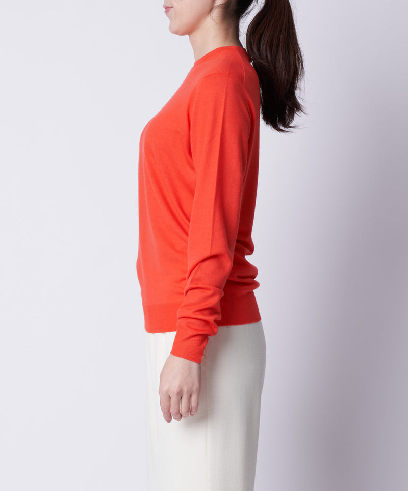 TL-0021 / WISH Wool Crew Neck Knit