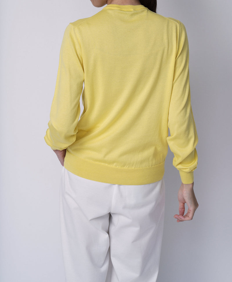 TL-1224 / Supima Cotton Long sleeve Knit