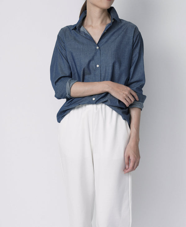 TL-3160 / Chambray New Regular Shirt