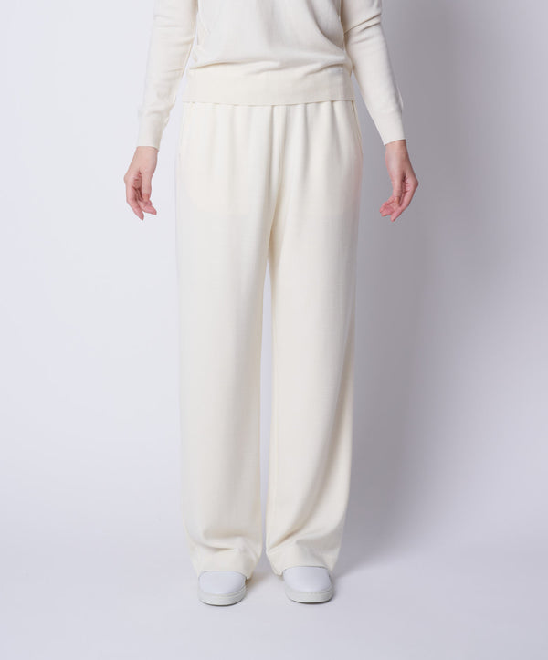 TL-6106 / Wool Punch Wide Pants