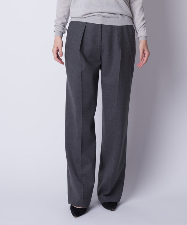 TL-6185 / Doublecloth Wide Pants