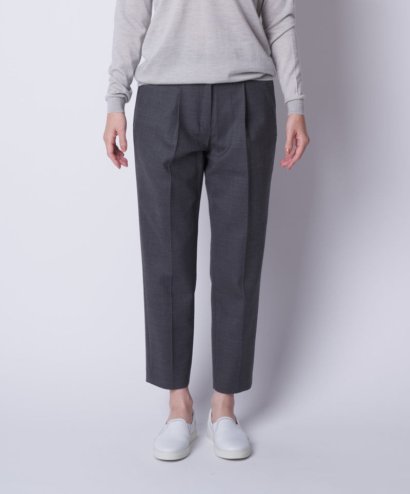 TL-6186 / Doublecloth Tapered Pants