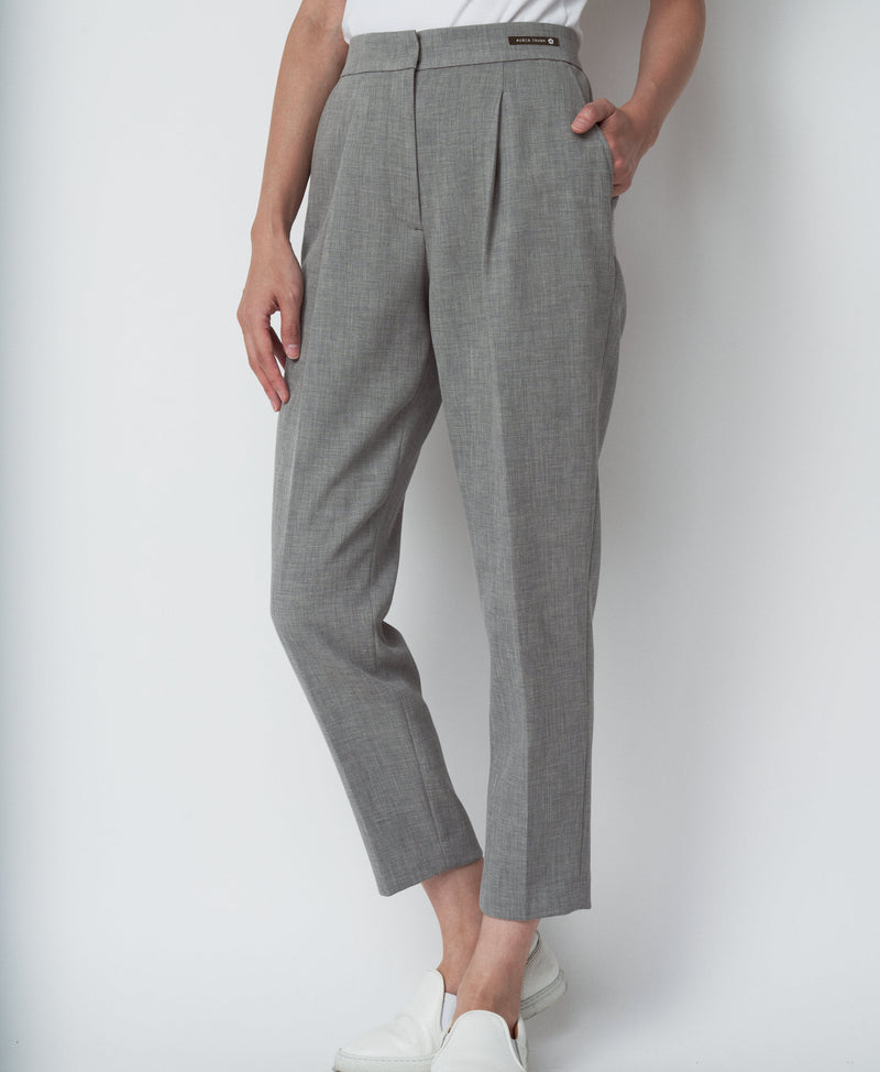 TL-6215 / Strong Twist Pique Tapered Pants