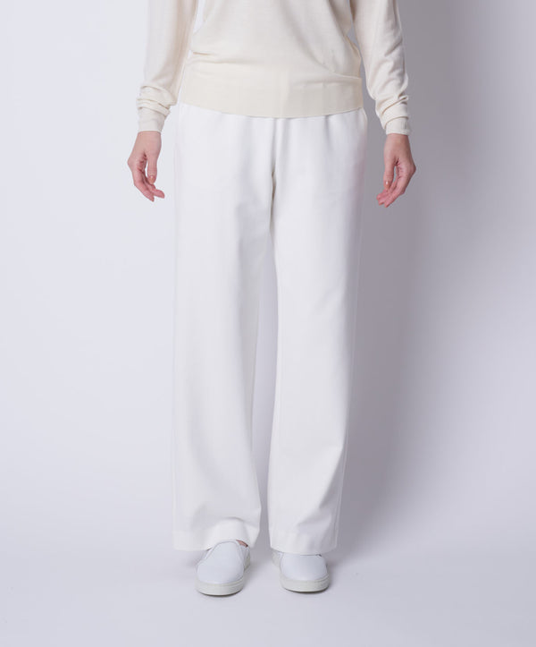 TL-6235 / Dry Cotton Stretch Cardboard Wide Pants