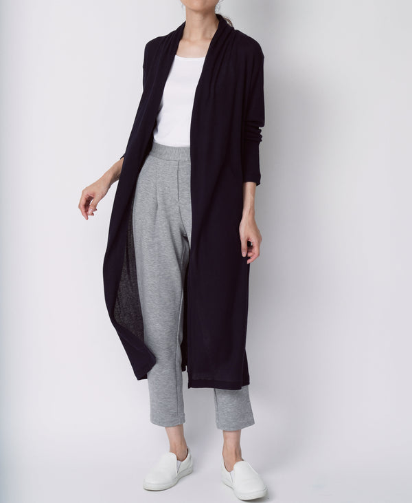 TL-9109 / Cotton Cashmere Long Cardigan