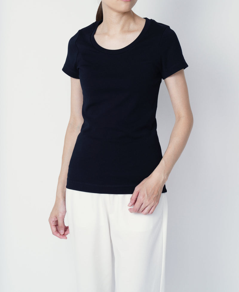 TL-9205 / Tight Milling Crew Neck T Shirt