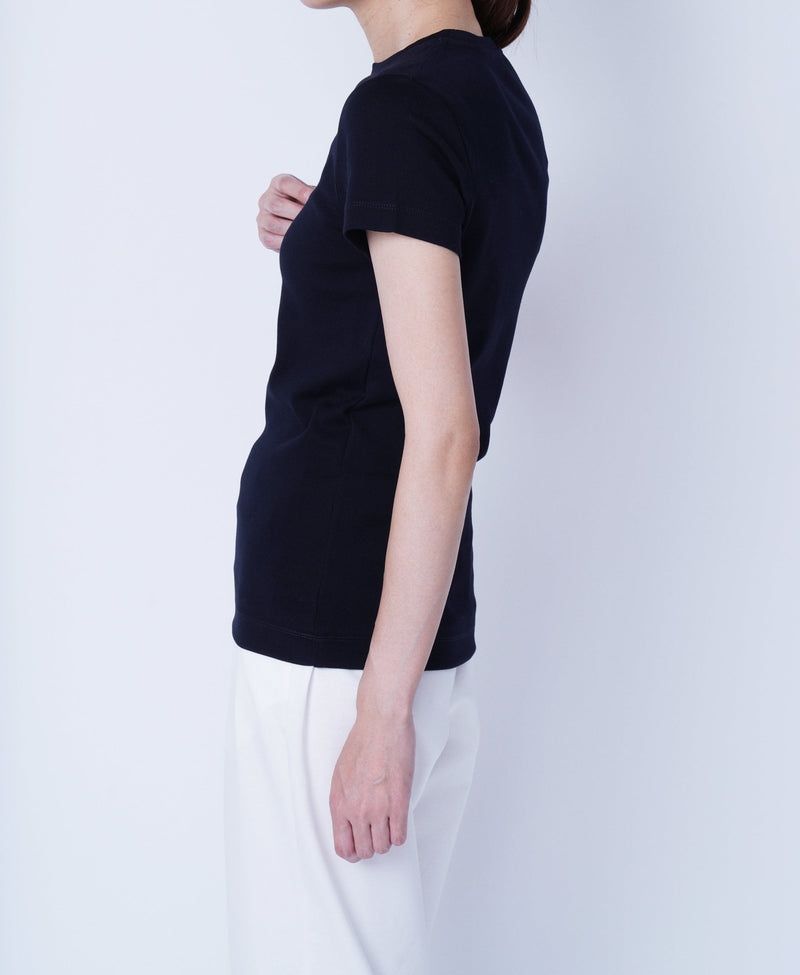 TL-9206 / Tight Milling Small Neck T Shirt