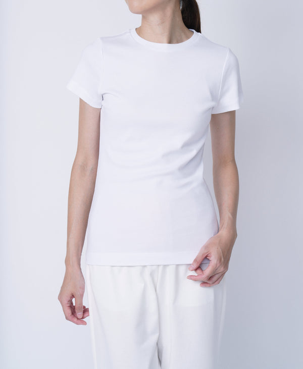 TL-9206 / Tight Milling Small Neck TShirt