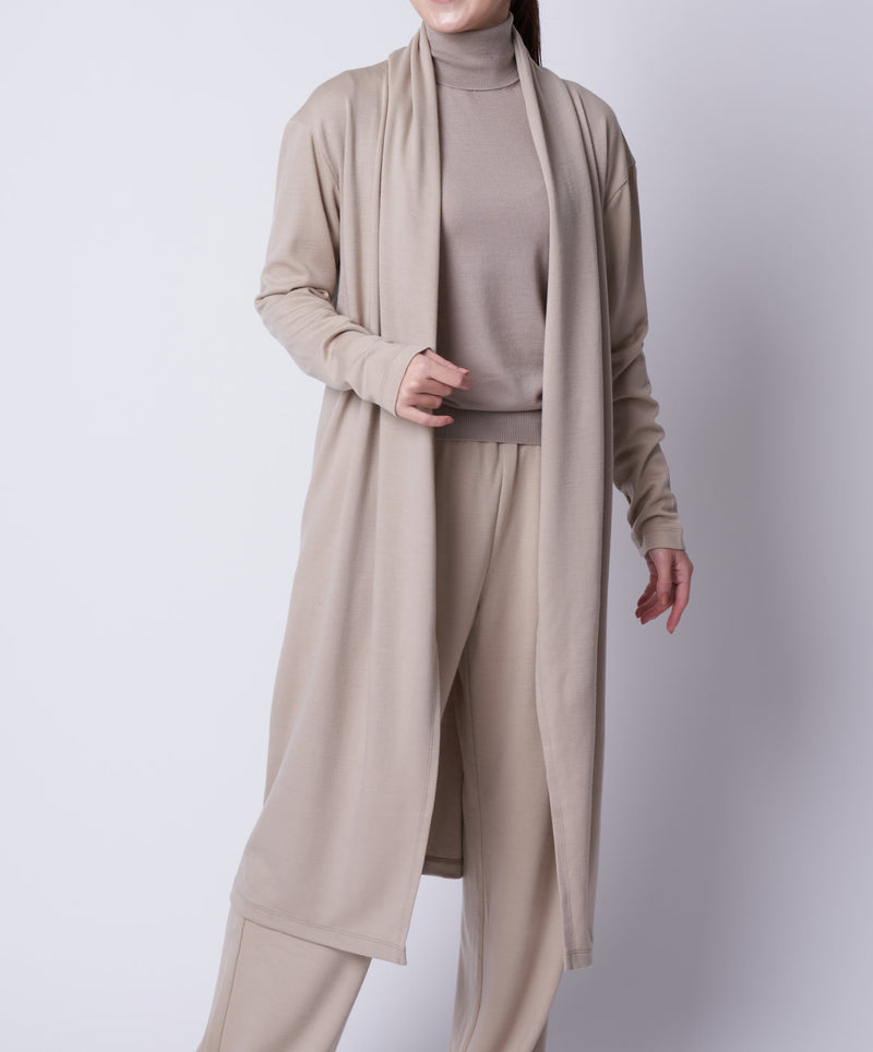 TL-959 / Wool  Punch Long Cardigan