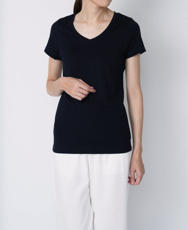 TL-970 / Subin Cotton V-Neck TShirt