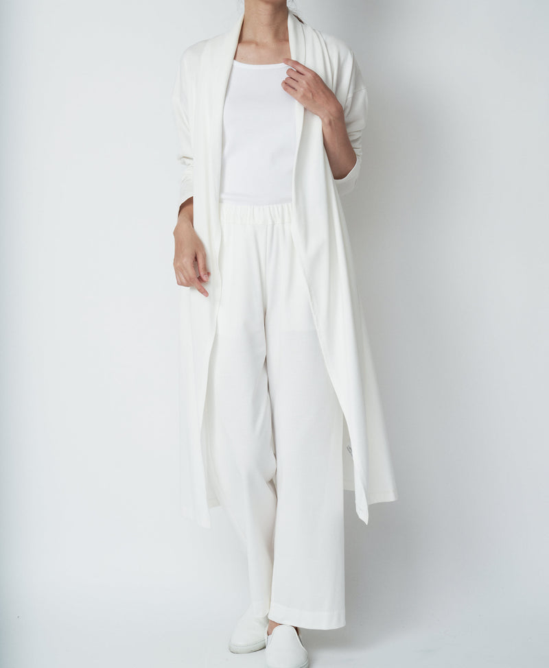 TL-991 / Mercerizing Cotton Long Cardigan