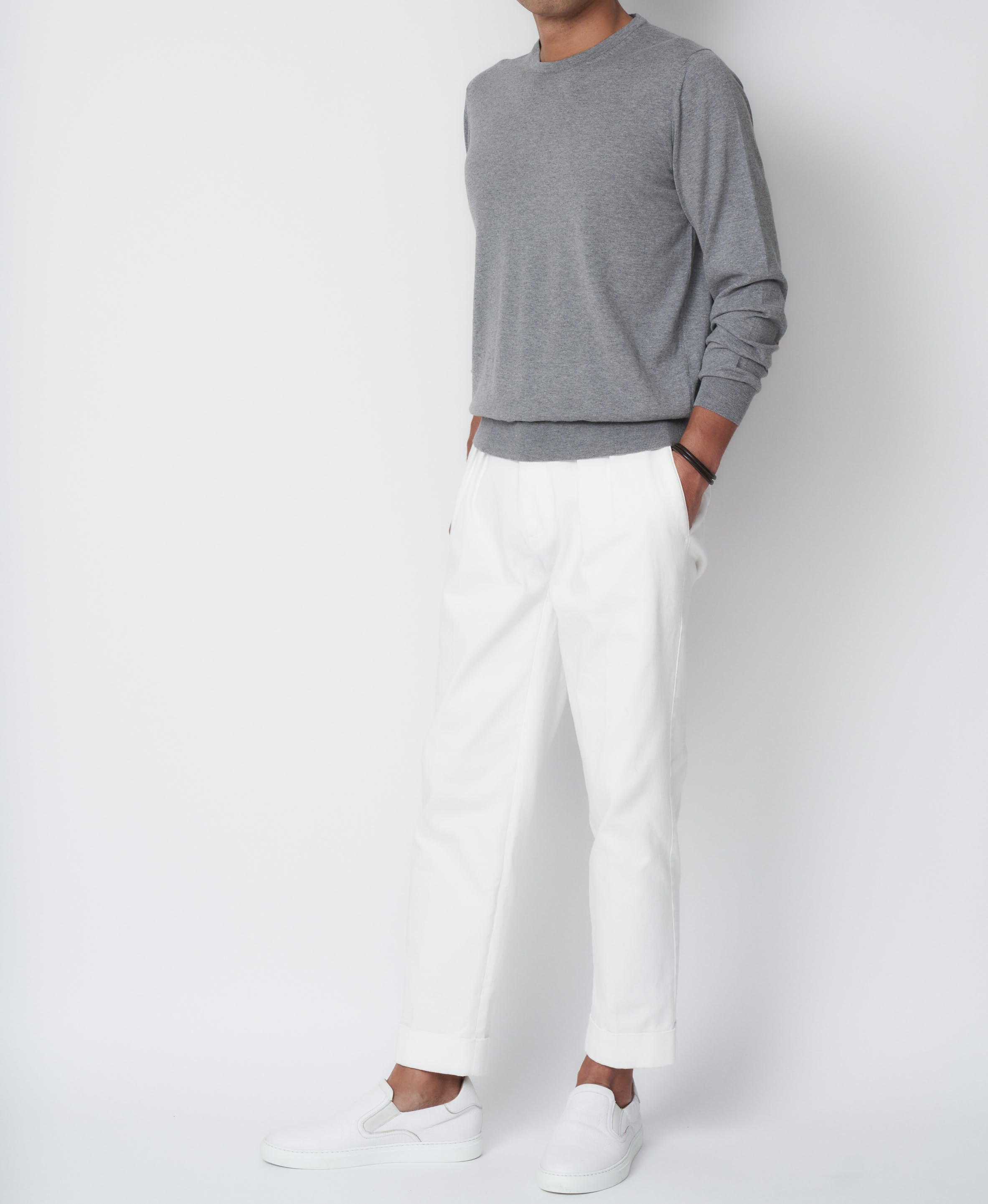 TM-1665 / Supima Cotton Long Sleeve  Knit