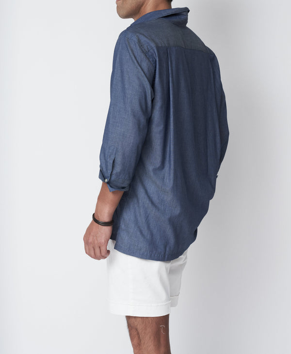 TM-3226 / Chambray Pullover Shirt