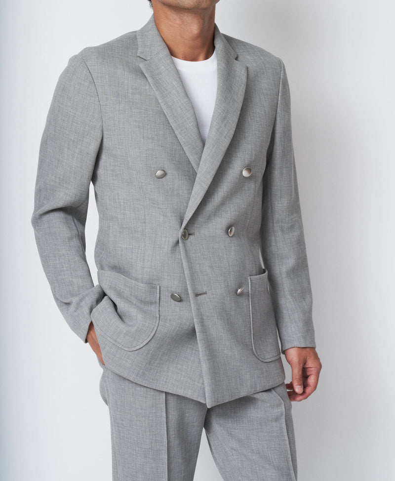 TM-4247 / Strong Twist Pique Double Jacket