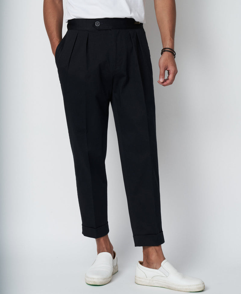 TM-6668 / Compact Twill Tapered Pants