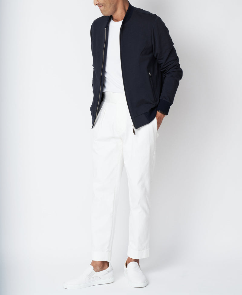 TM-9238 / Soft Stretch Baseball Jacket