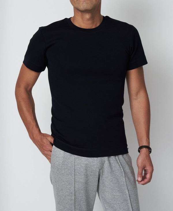 TM-9241 / Tight Milling Crew Neck T Shirt