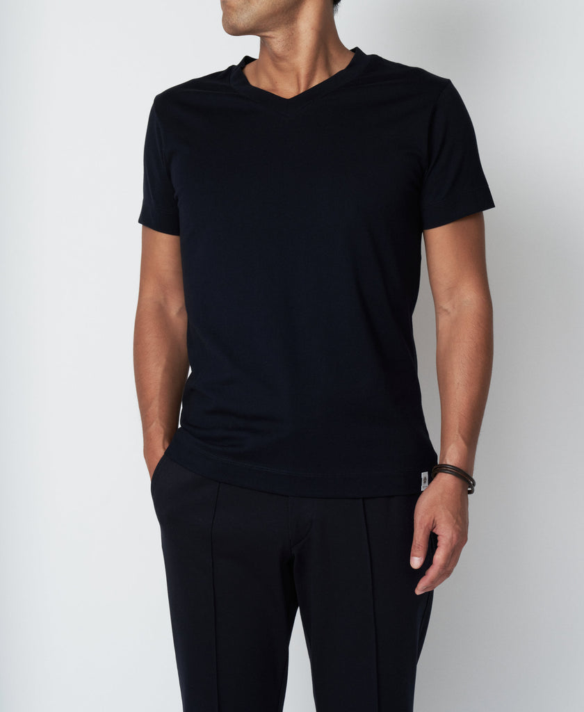 TM-9657 / Subin Cotton V-Neck T Shirt