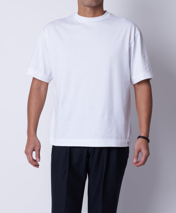 TM-9674 / Supima Cotton Loose Fit TShirt【MEN'S】