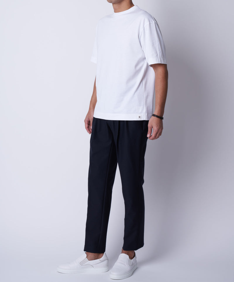 TM-9674 / Supima Cotton Loose Fit T Shirt【MEN'S】