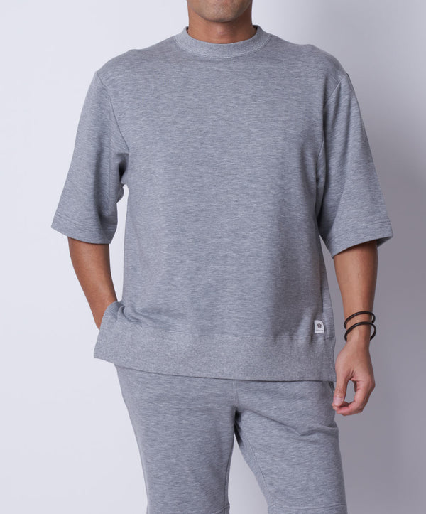 TM-9681 / Tencel Stretch Three Quarter Sleeves Pullover