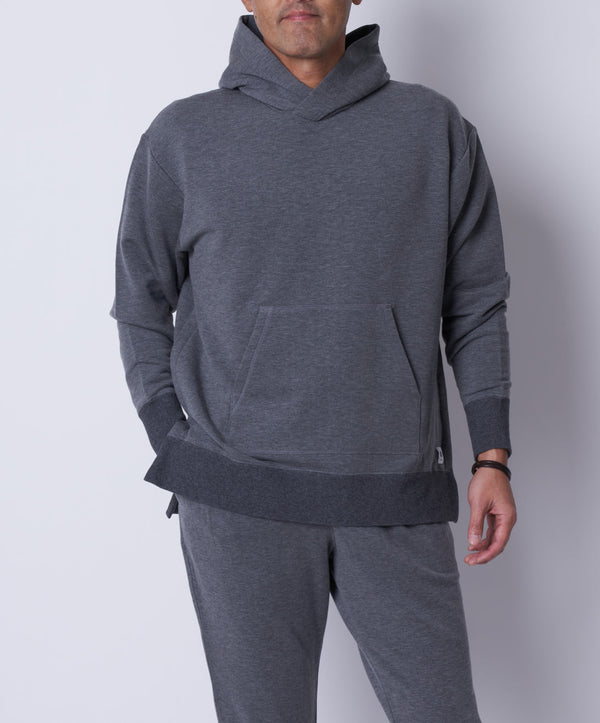 TM-9683 / Tencel Cashmere Pullover Hoodie