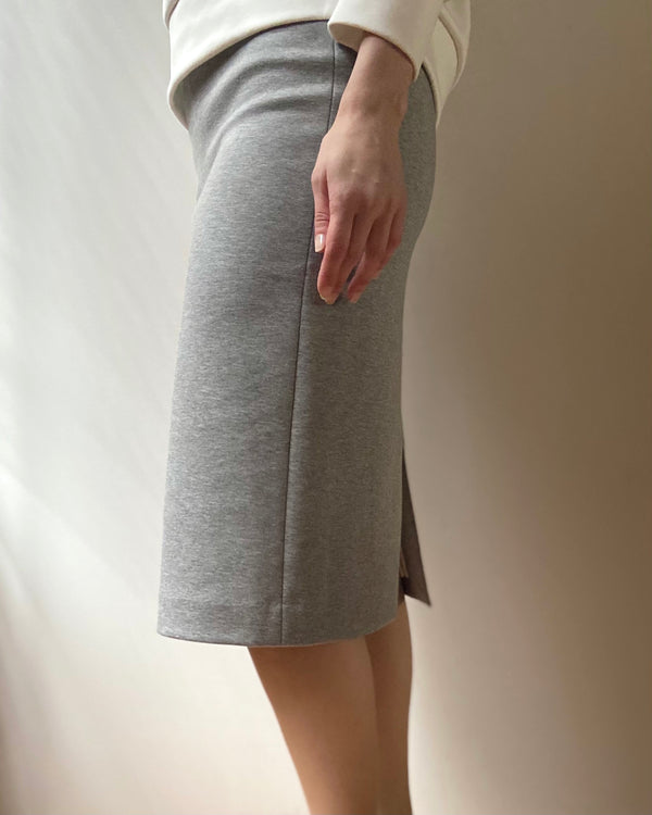TL-7249 / Cardboard Knit Skirt