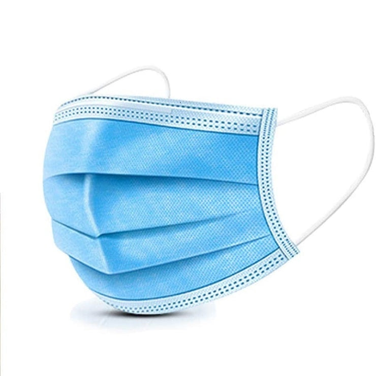 10 Piece Disposable Non-woven 3-layer Breathable Mask