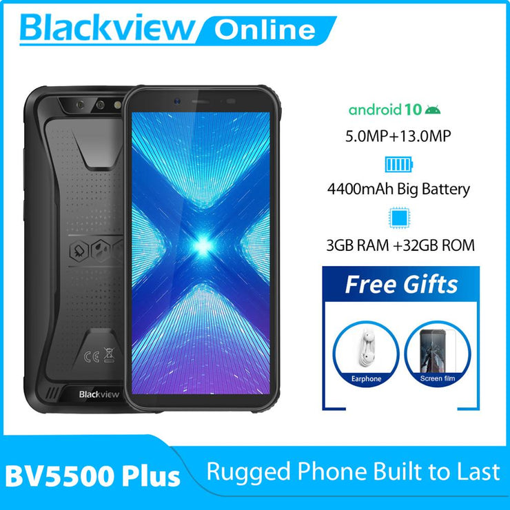 Blackview BV5500 Plus 3GB+32GB Android Smartphone