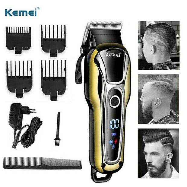 Digital Clipper Professional Hair Trimmer