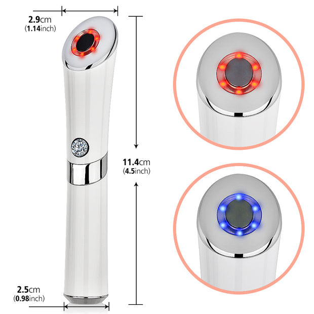 Facial Eye Ion Massager Face Lifting Anti Wrinkle