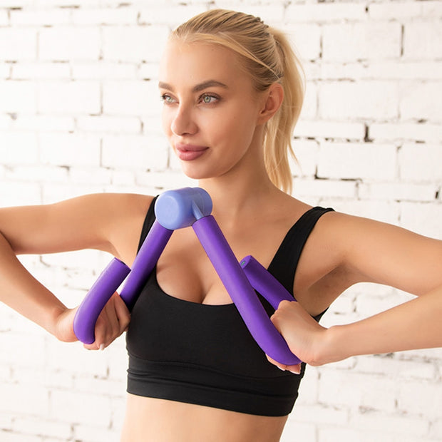 PVC Exercisers Gym Arm Chest Waist Exerciser