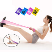 Yoga Fitness Resistance Bands Elastic Stretch